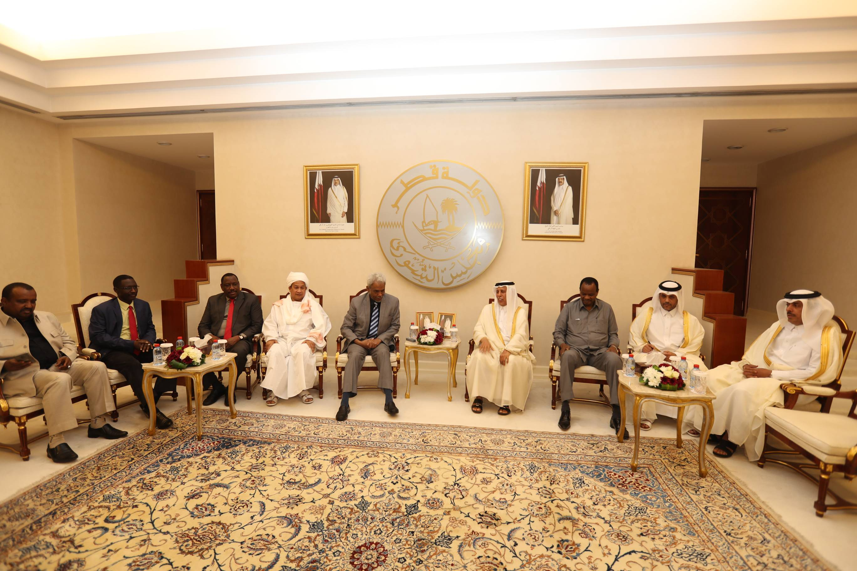 Advisory Council Speaker Meets Sudanese Official