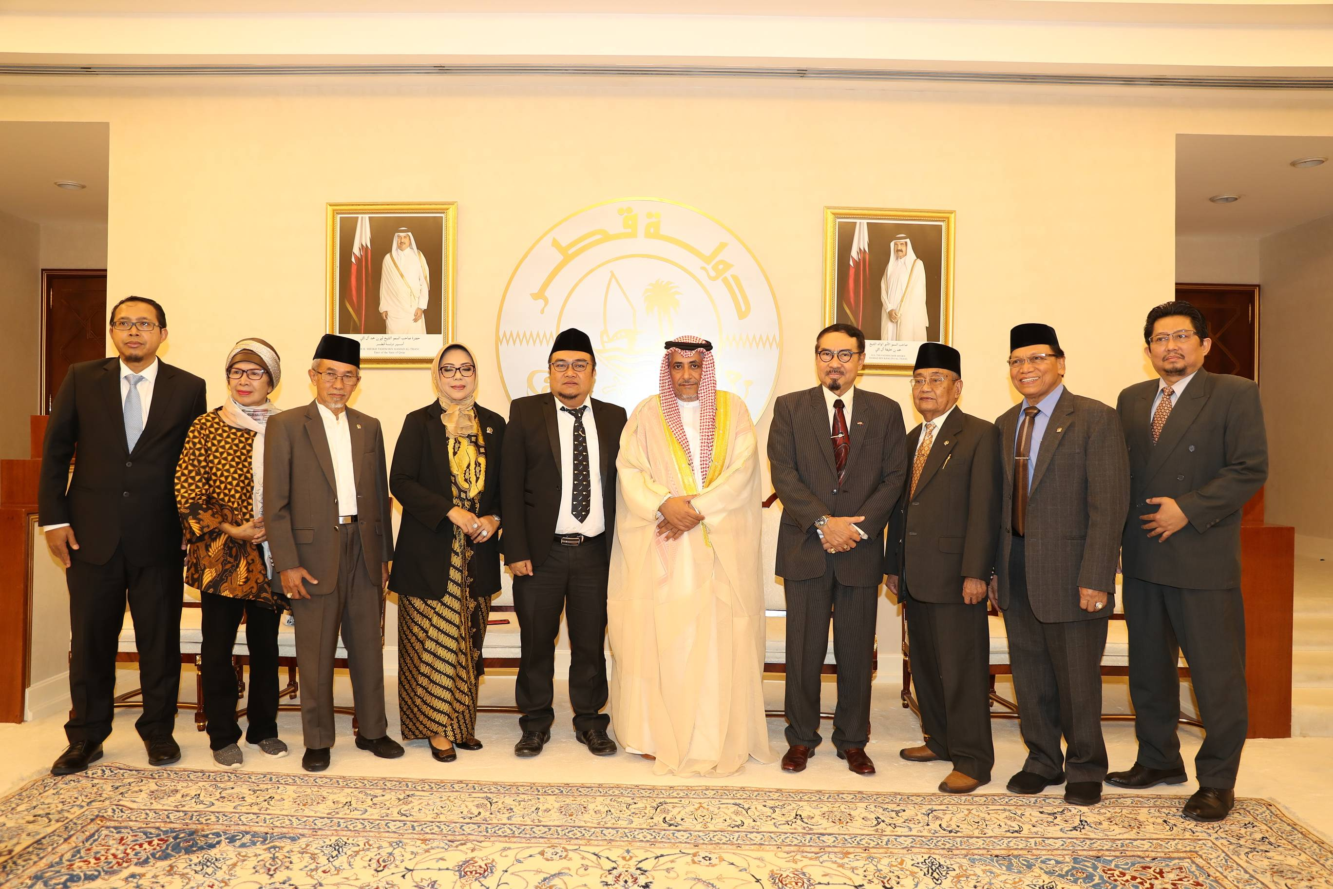 Advisory Council Deputy Speaker Meets Vice Chairman of Indonesia's Regional Representative Council