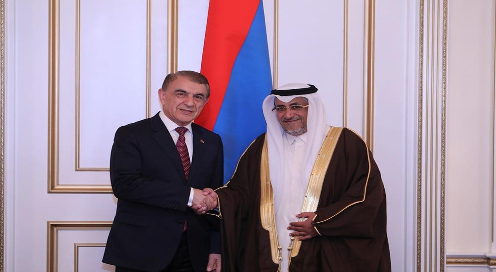 Armenian President Meets Deputy Speaker of Advisory Council