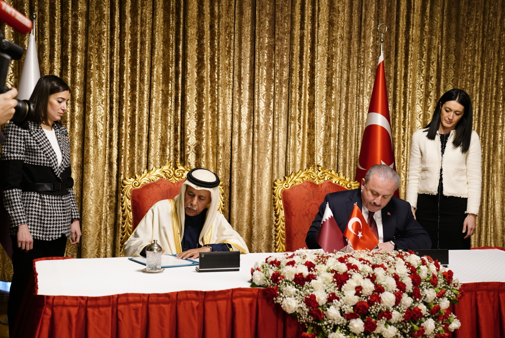 Qatar, Turkey Ink MoU to Bolster Parliamentary Cooperation