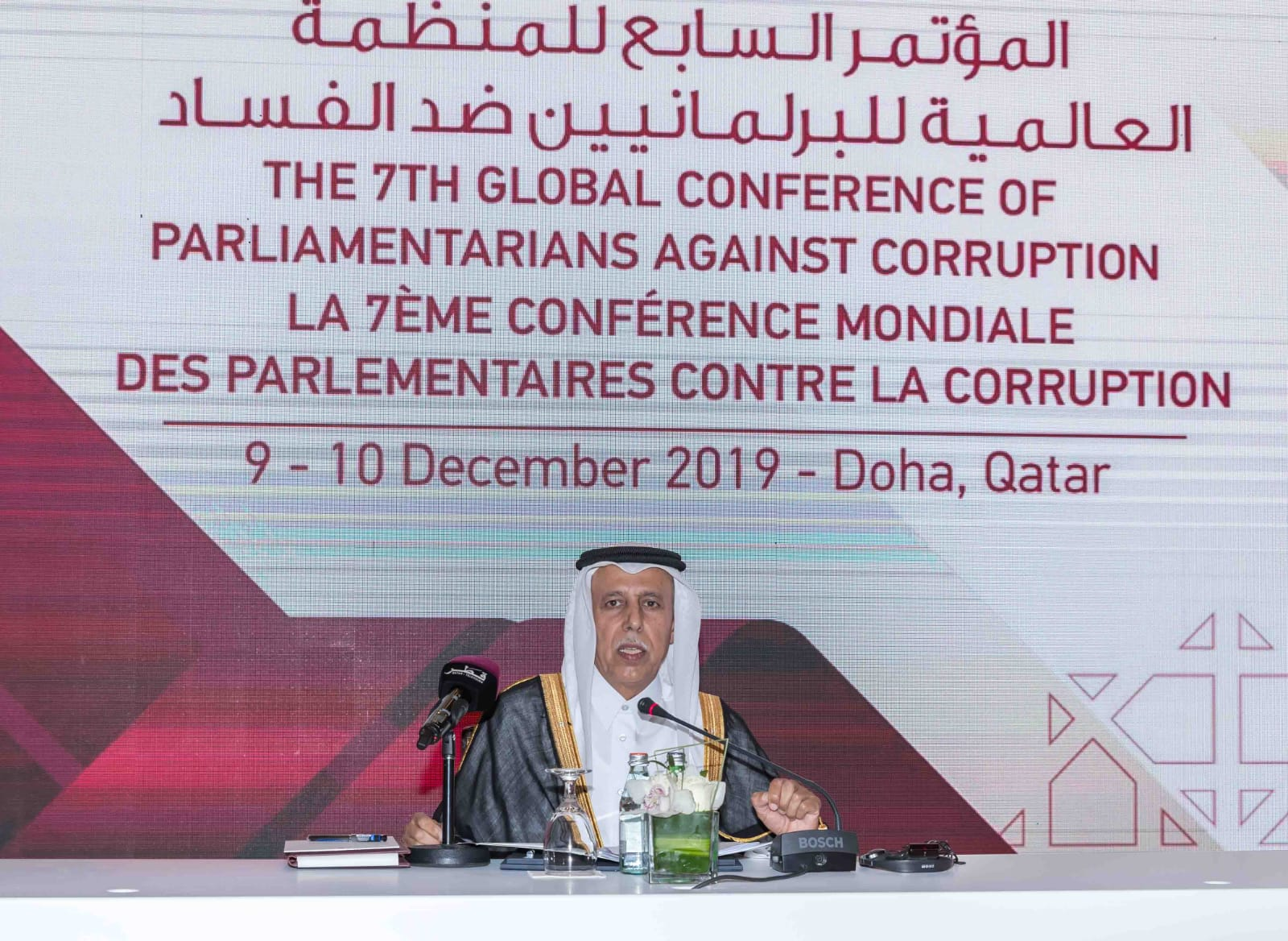 Shura Speaker Meets Heads of Diplomatic Missions in Preparations for GOPAC Global Conference