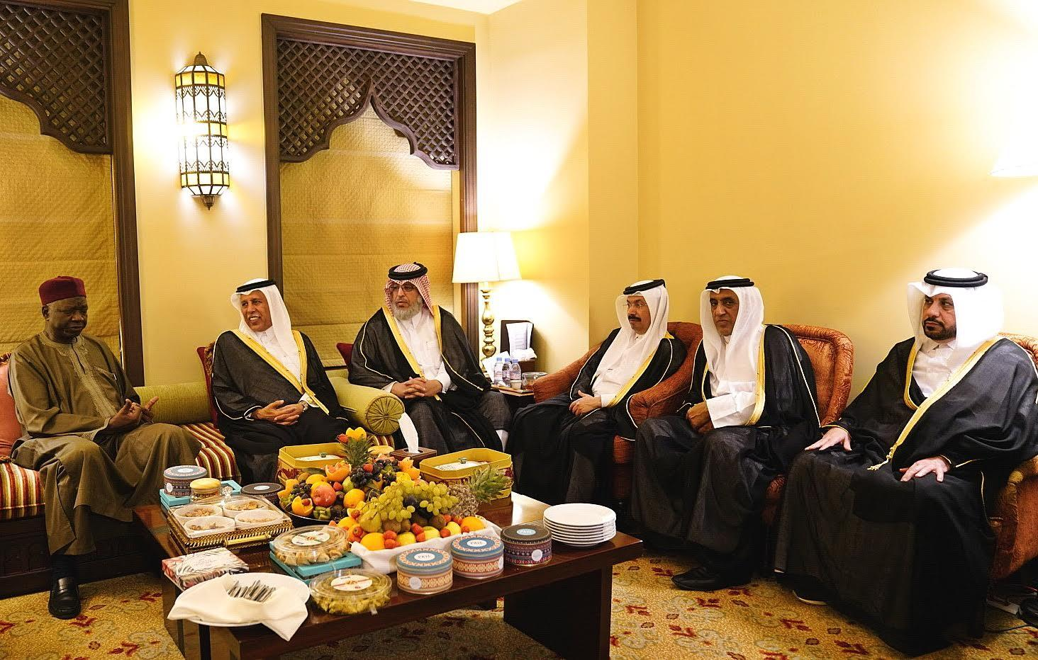 Speaker of Shura Council Meets APU President