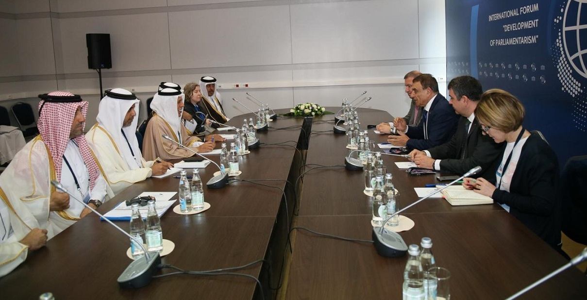 Advisory Council Meets Parliamentarians in Moscow