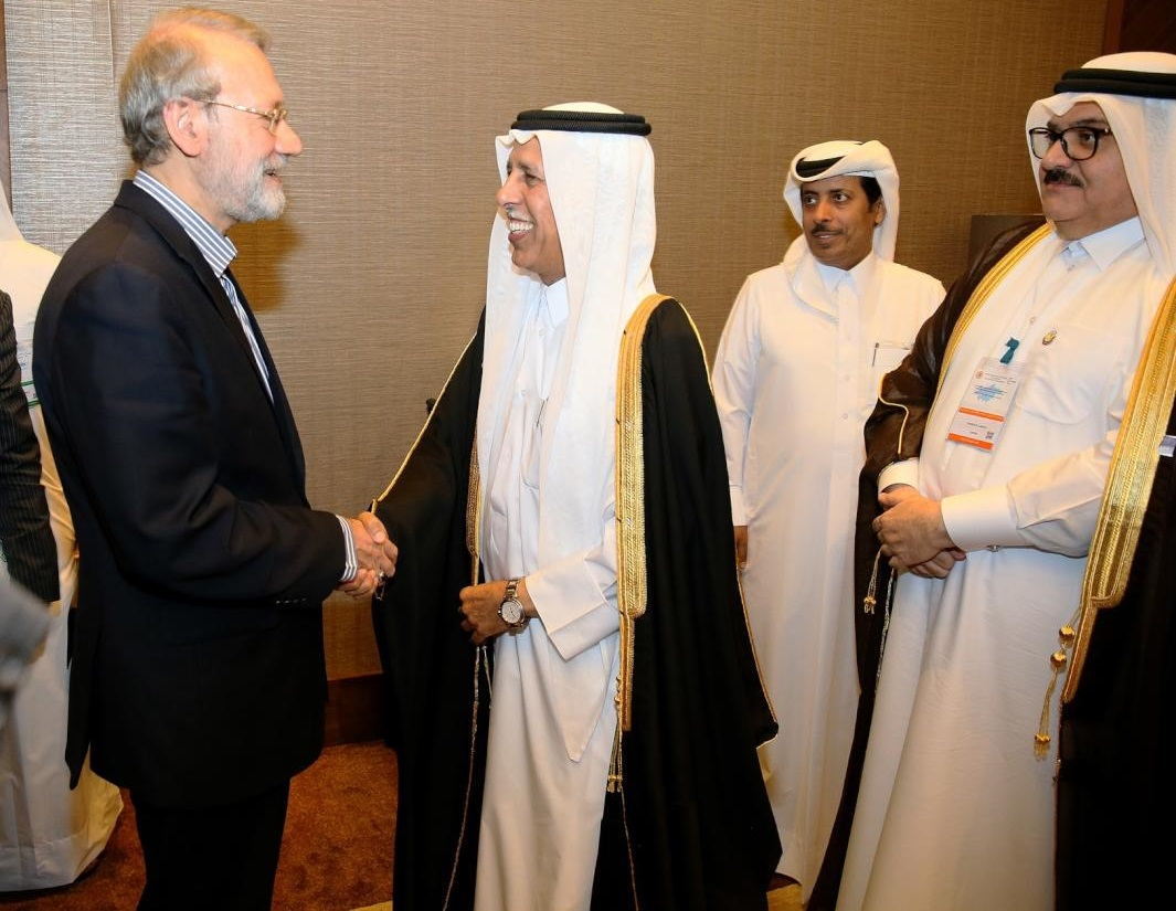 Advisory Council Speaker Meets Iranian Counterparts