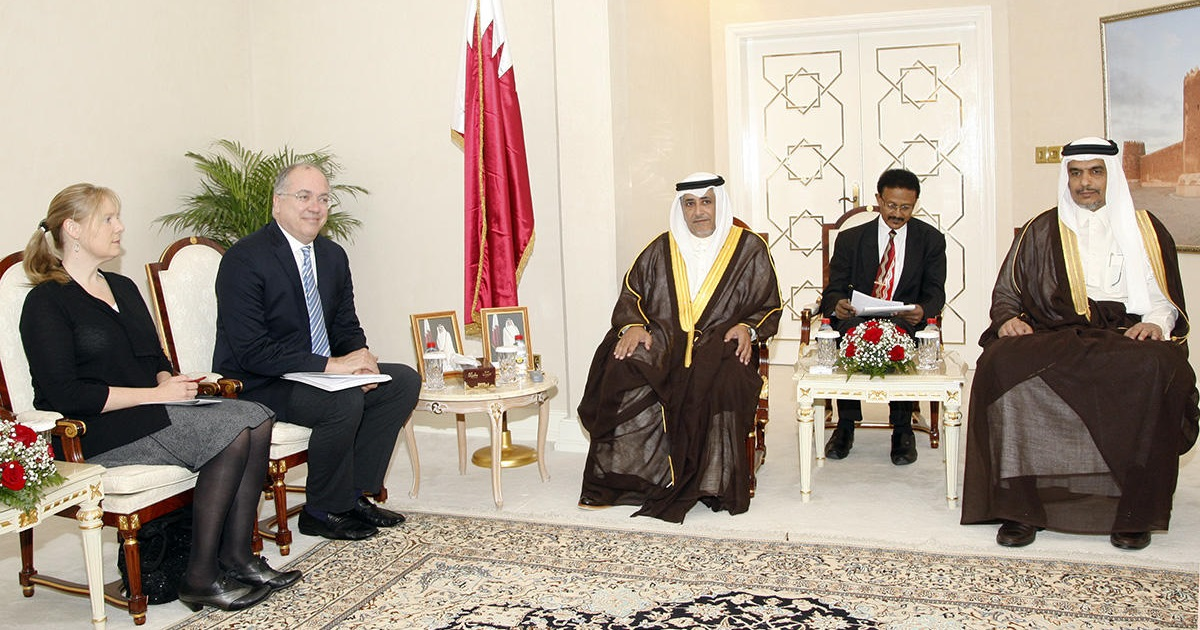 Deputy Speaker of Advisory Council Meets Delegation of World Affairs Councils of America