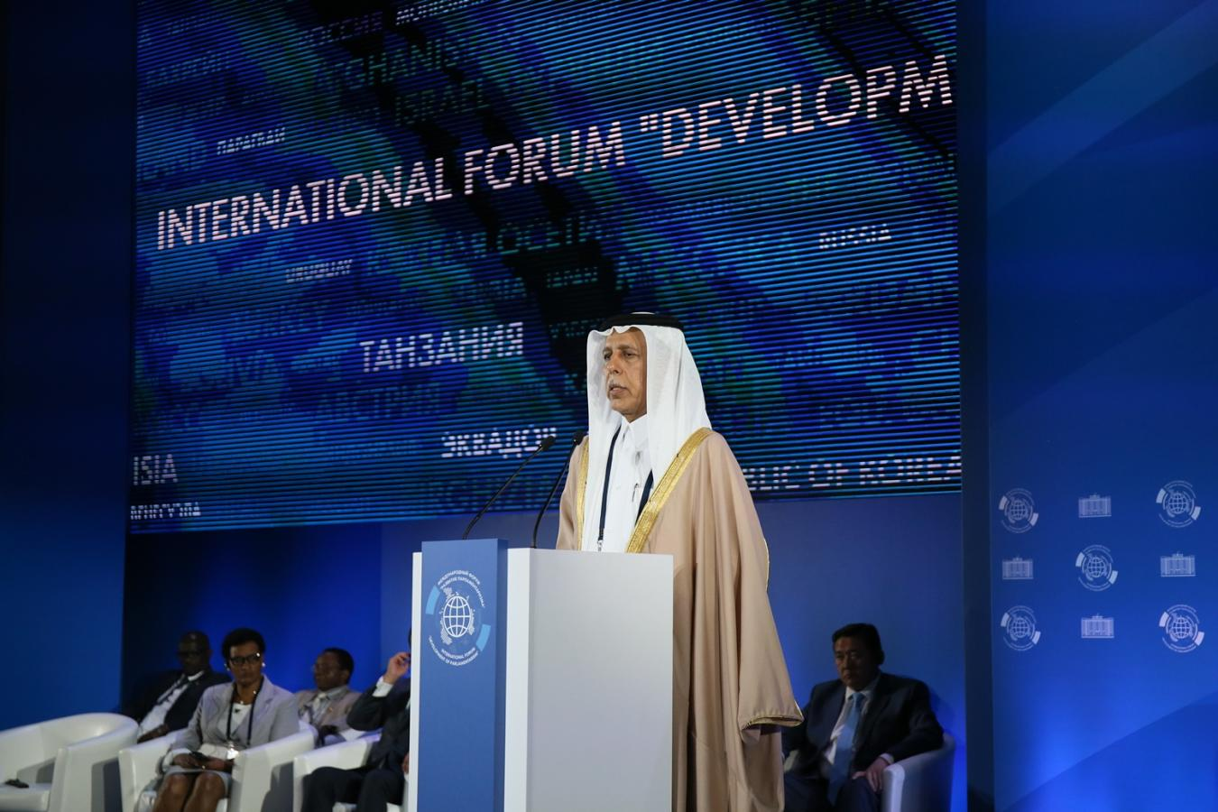 Al Mahmoud Hails Results of International Forum for Development of Parliamentarianism in Russia